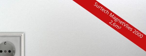 Surtech Magnetvlies 2000 – die Magnettapete für Ihre Wand