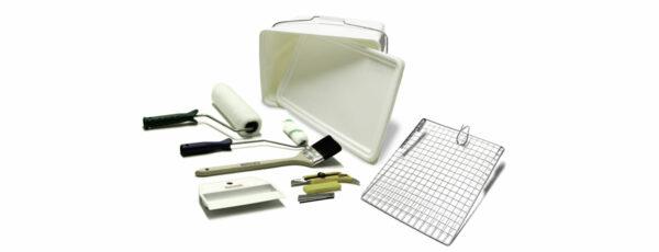 Surtech Werkzeugset zum Tapezieren und Streichen von Glasgewebetapete