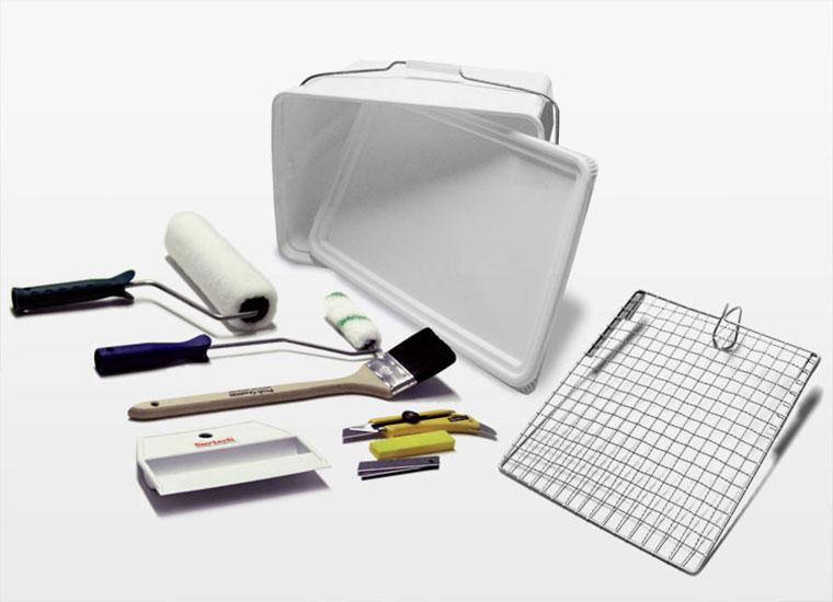 Surtech Werkzeuge: Zubehoer zum Glasfasertapete tapezieren