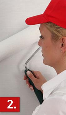 Surtech Glasgewebe: Tipps zur Verarbeitung selbsthaftender Wandbeläge – Anleitung zum Tapezieren