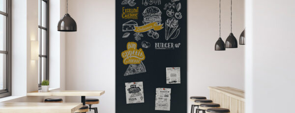 Blackboard-Wandbelag von Surtech