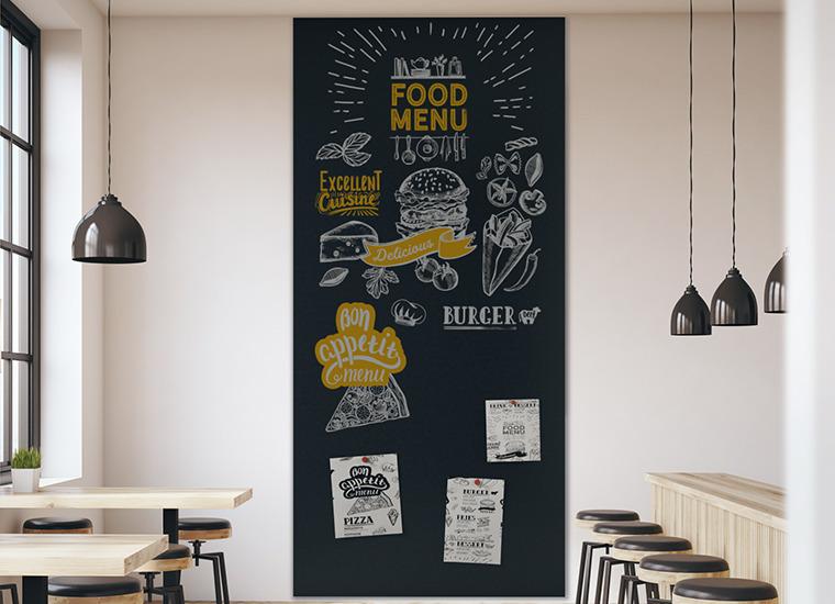 Blackboard Wandbelag von Surtech